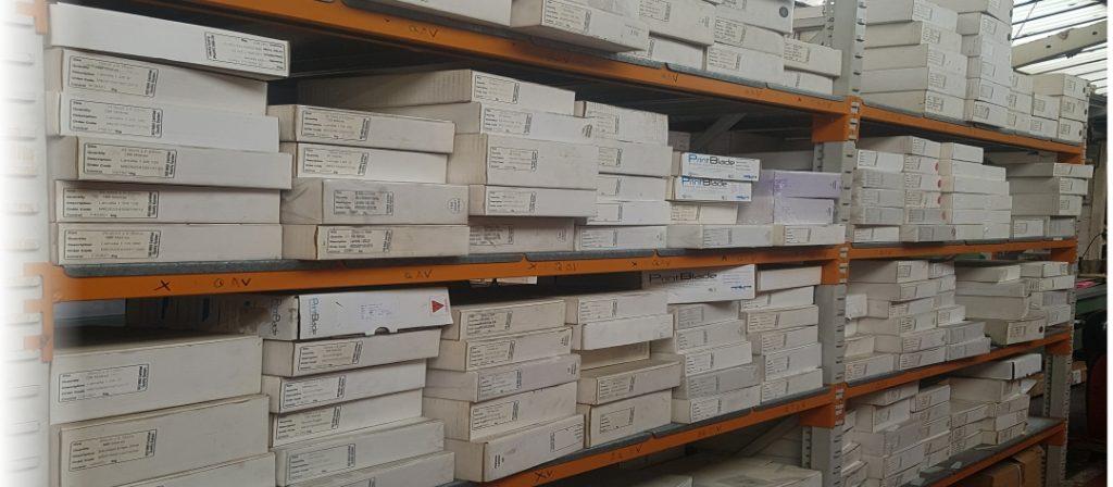 PrintBlade UK manufactured doctor blades - huge range in stock